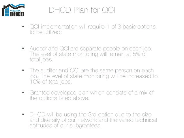 Hancock Software QCI Customer Forum Presentation