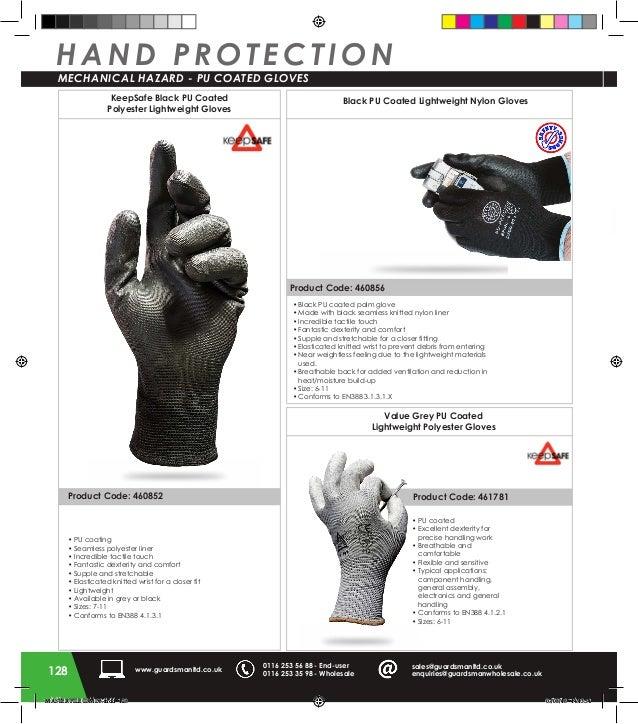 Size 10 Freep//p Keepsafe Heavy Duty Knitwrist Red PVC Gloves