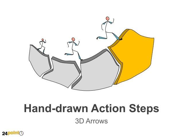 Hand-drawn 3D Arrows   Insert text  Insert text  Insert text   Insert text    Insert text    Insert text  1  2  3   ...