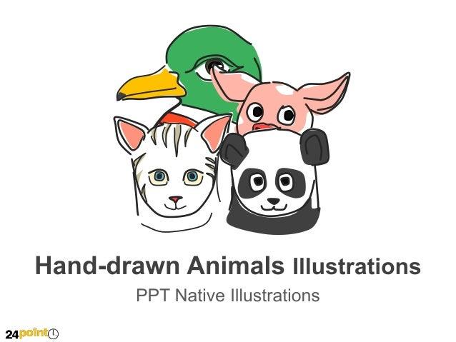 Hand-drawn Animals