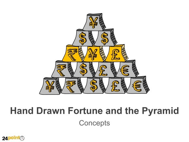 Hand Drawn Fortune and the Pyramid  Insert your own text here  Insert your own text here  Insert your own text here  Inser...