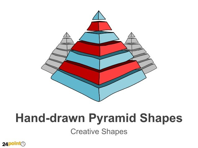 Hand-drawn Pyramid Shapes