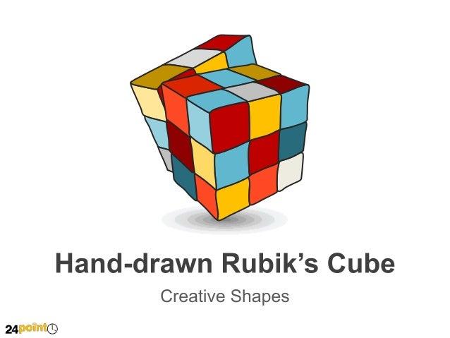 Hand-drawn Rubik's Cube   Insert text   Insert text