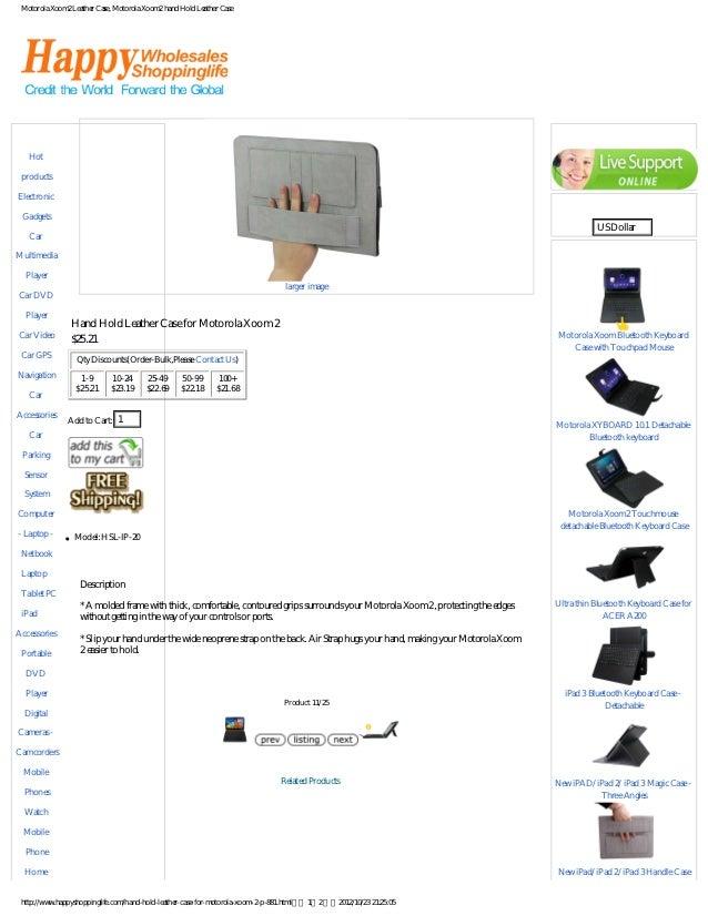 Motorola Xoom2 Leather Case, Motorola Xoom2 hand Hold Leather CaseCategories                                              ...