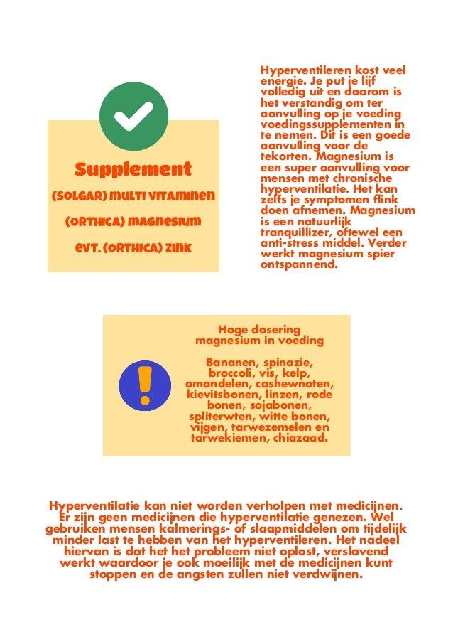 symptomen chronische hyperventilatie stress