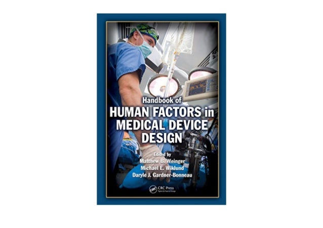 PDF Handbook of Human Factors in Medical Device Design