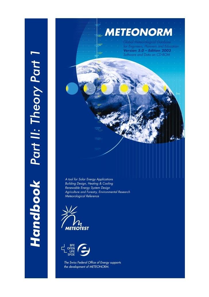 Part II: Theory Part 1 Handbook