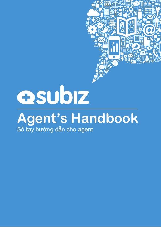 Agent's Handbook Sổ tay hướng dẫn cho agent