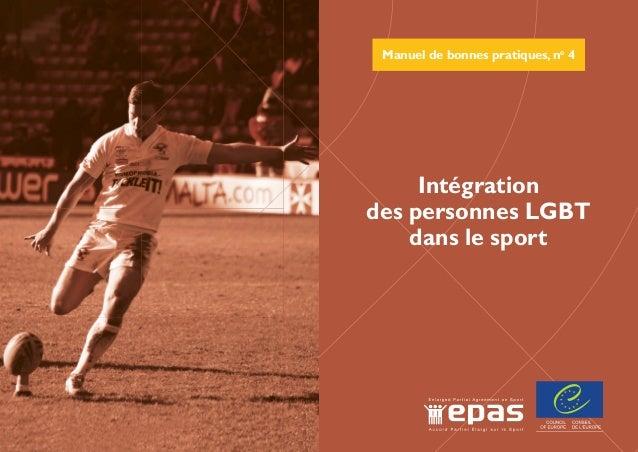 Manuel de bonnes pratiques, no 4 La promotion de la diversité dans et à travers le sport est une priorité majeure de l'Acc...