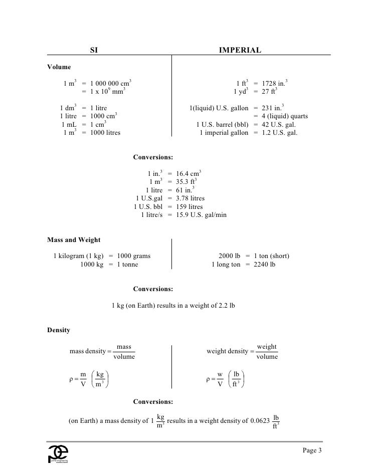 handbook of formulae and constants Units of measurement in water treatment - characteristics solution constants   formula: characteristic solution constants - resistivity in ohms  cm eg 10 μs.