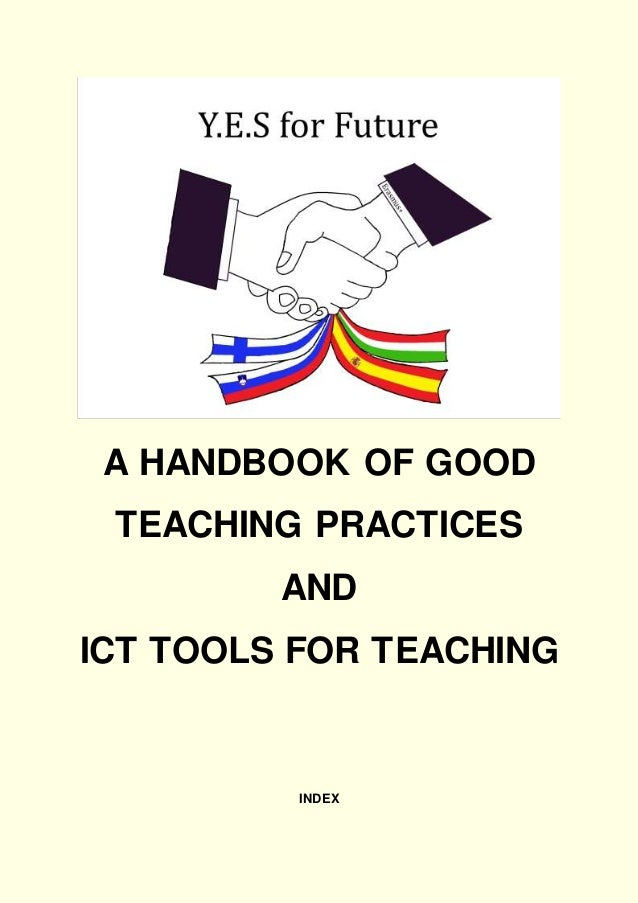 A HANDBOOK OF GOOD TEACHING PRACTICES AND ICT TOOLS FOR TEACHING INDEX