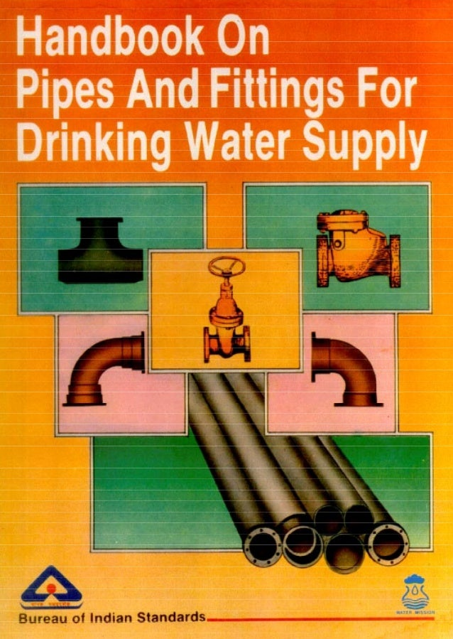 Handbook of laying pipe sp57 for Can you use pvc for water lines