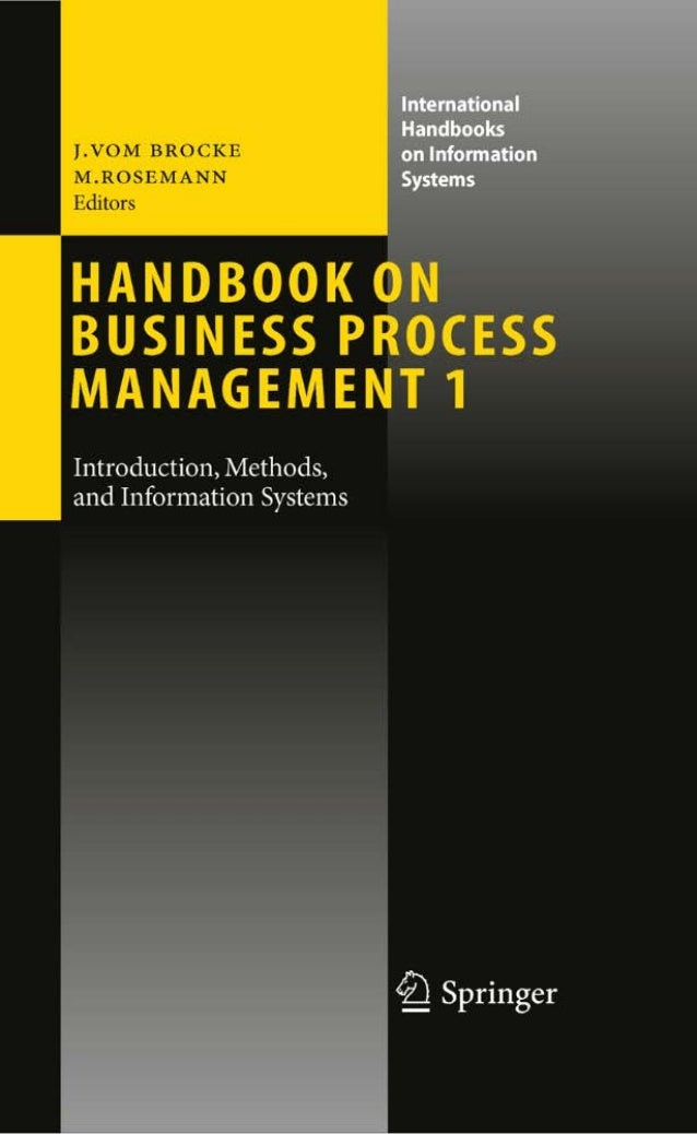 International Handbooks on Information Systems  Series Editors  Peter Bernus, Jacek Błażewicz, Günter J. Schmidt, Michael ...