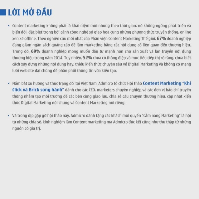 Cẩm nang Content marketing - DIGITAL STORY 2014  Slide 3