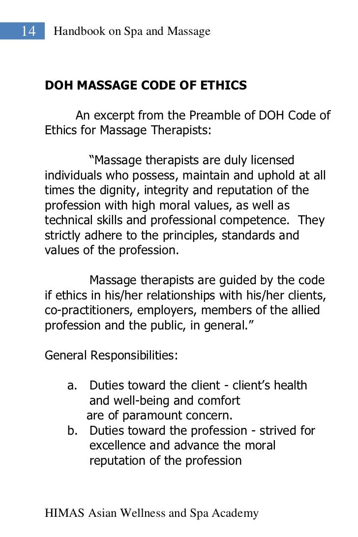 Handbook on spa and massage spa academy 14 madrichimfo Choice Image