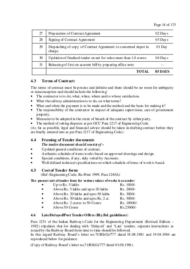 work contracts samples