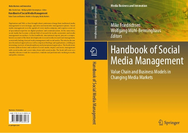 Media Business and Innovation                                                                                             ...