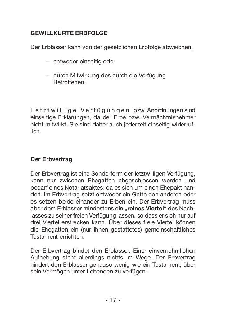 Handbuch Erbrecht (c) Erste Bank und Sparkassen
