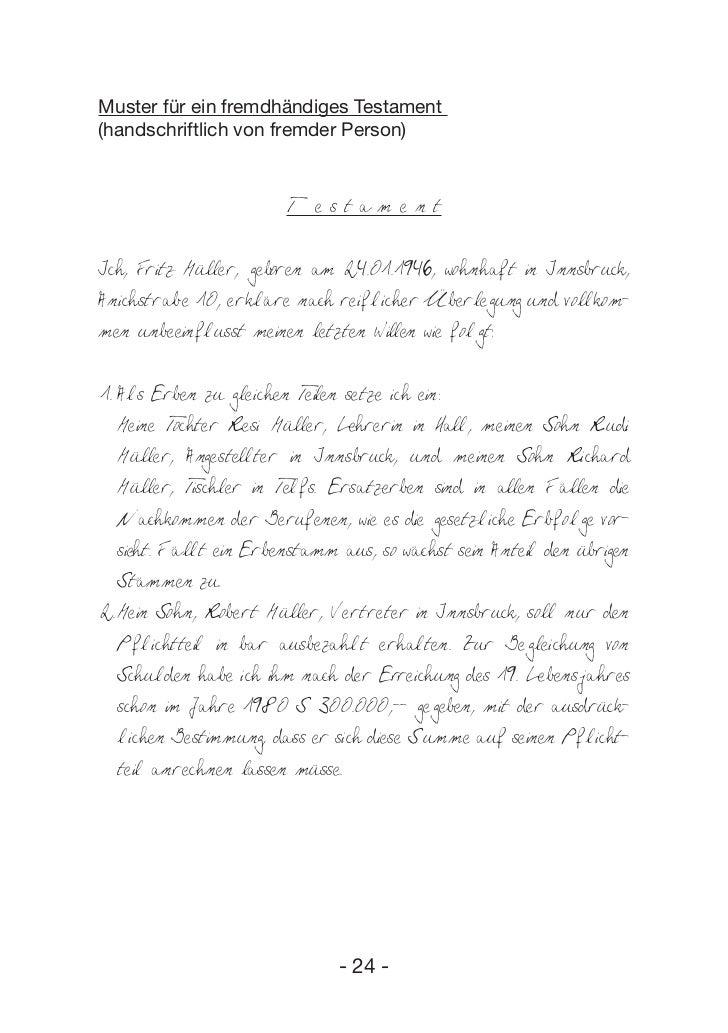 ehegattentestament muster download free. gemeinsames testament ...