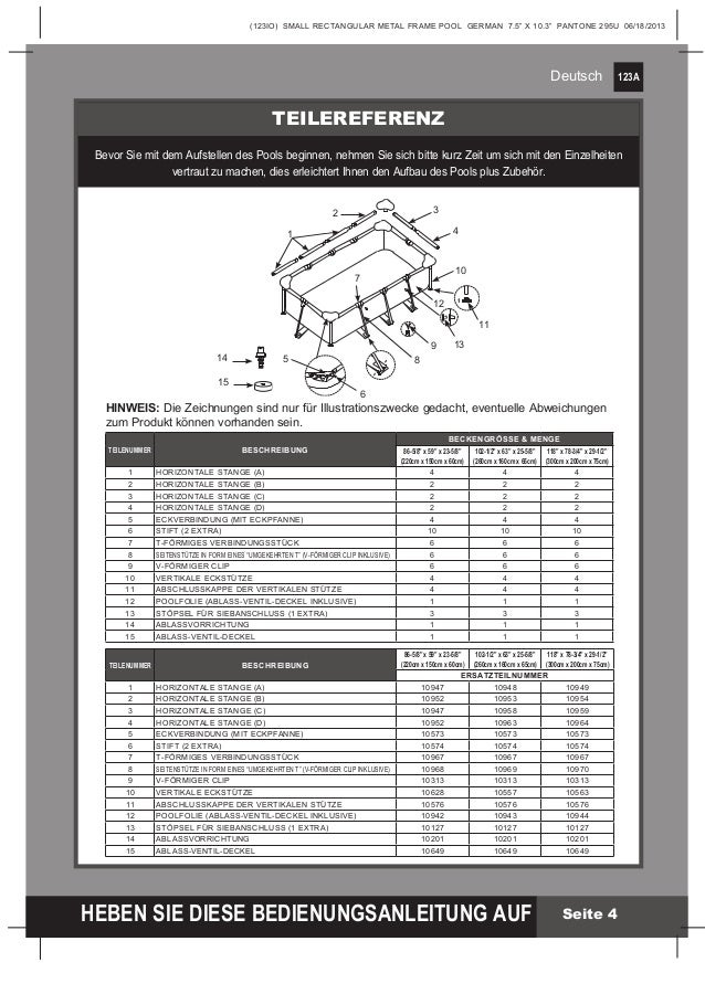 Bestway Pool Anleitung How To Set Up A Bestway Power Steel Frame Pool 2020 05 19