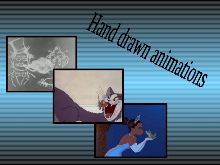 Hand drawn animations