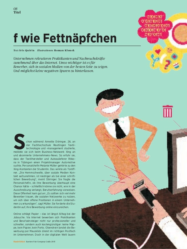 chon während Annette Döringer, 26, an der Fachhochschule Reutlingen Textil- technologie und -management studierte, meldete...