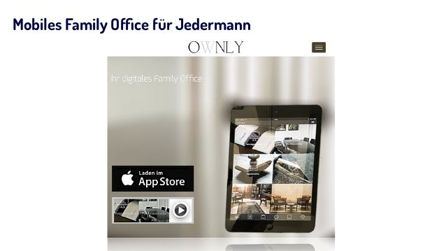 Mobiles Family Office für Jedermann