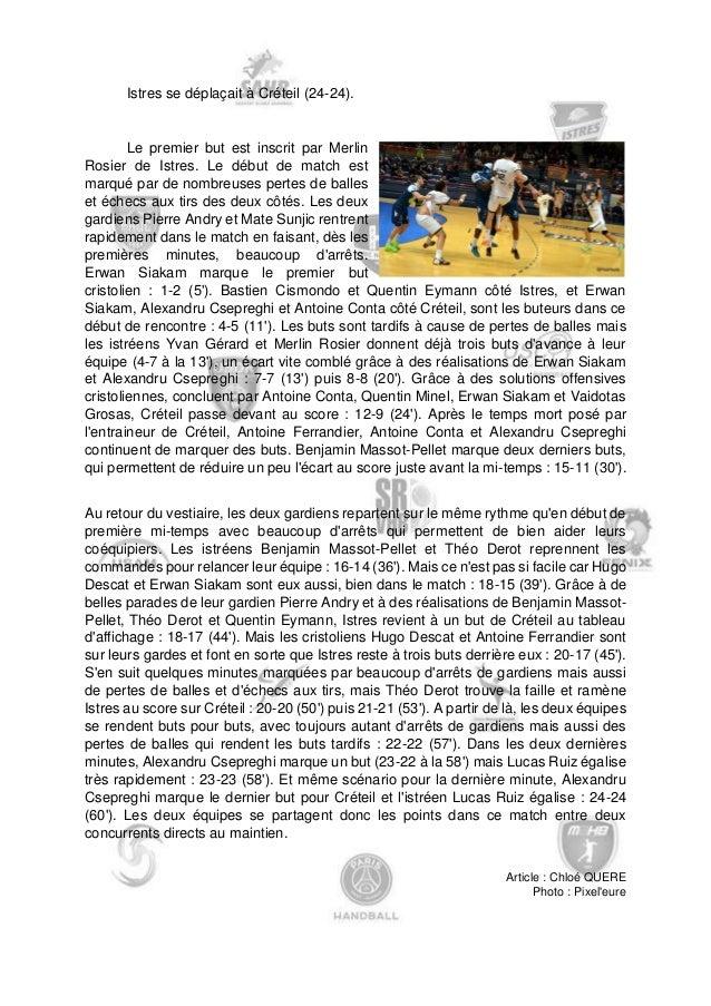 Après un exploit de Nîmes à domicile face à Nantes (33-31), Julien Rebichon a accepté de nous donner sa réaction :  «Après...