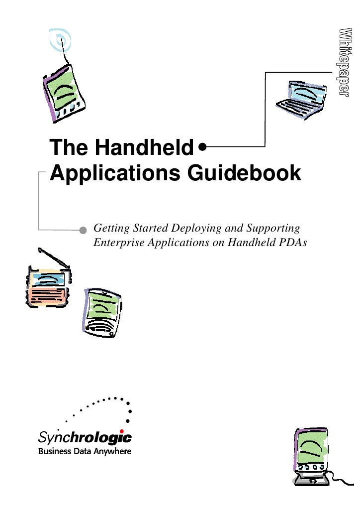 The HandheldApplications Guidebook   Getting Started Deploying and Supporting   Enterprise Applications on Handheld PDAs