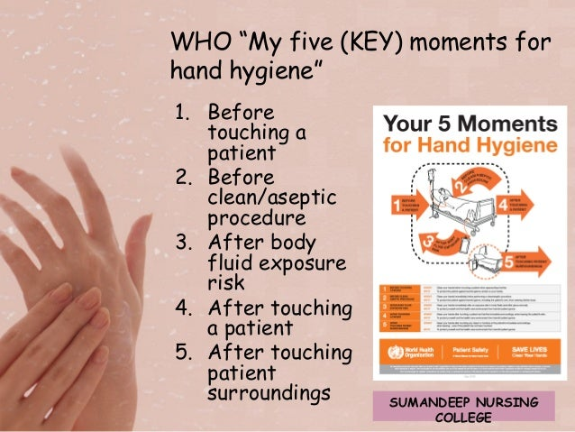hand hygiene and health workers A hand-hygiene video from the wake forest baptist medical center in winston- salem, nc, won the sixth annual film festival at the.