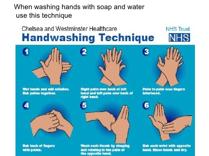 proper hand washing procedure pdf