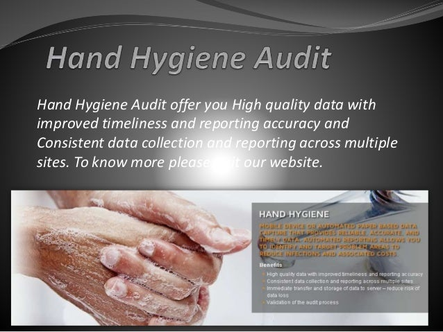 Hand Hygiene Audit Tools