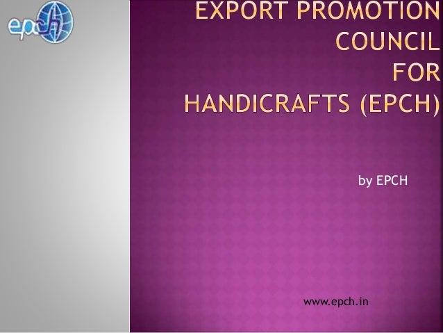 Handicraft Houseware Epch In