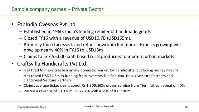 Handicrafts Market