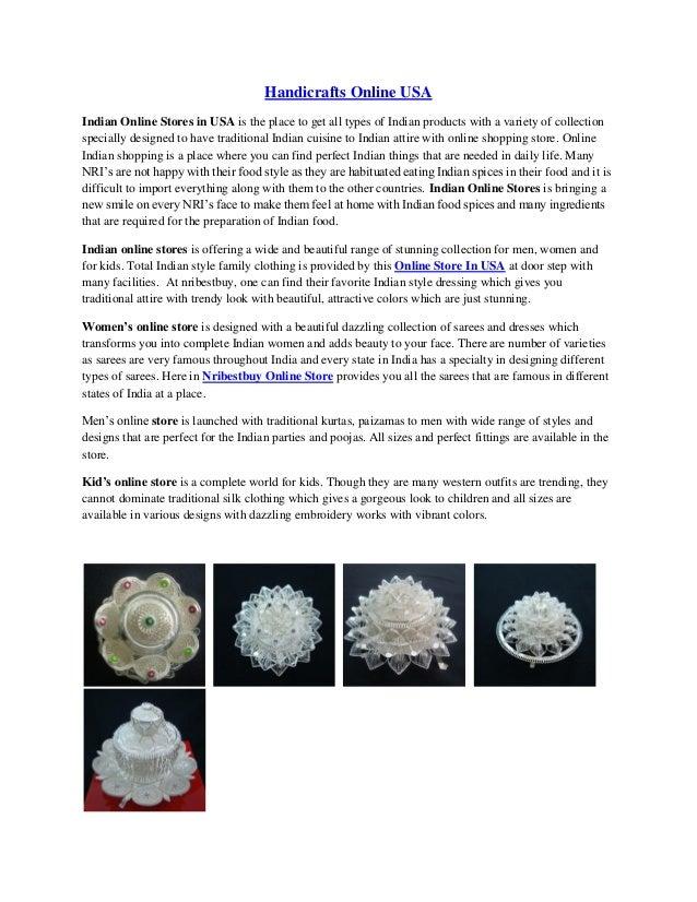 Handicrafts Online Usa