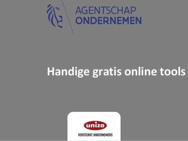 Handige gratis online tools