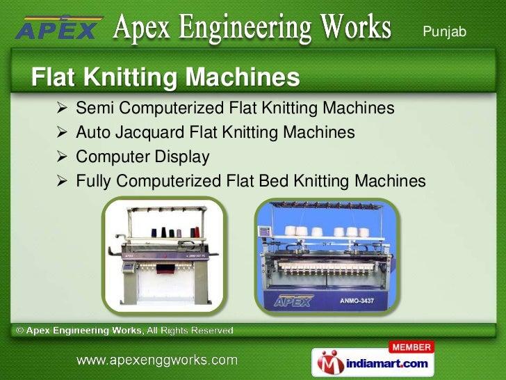 Hand Knitting Machine By Apex Engineering Works Ludhiana