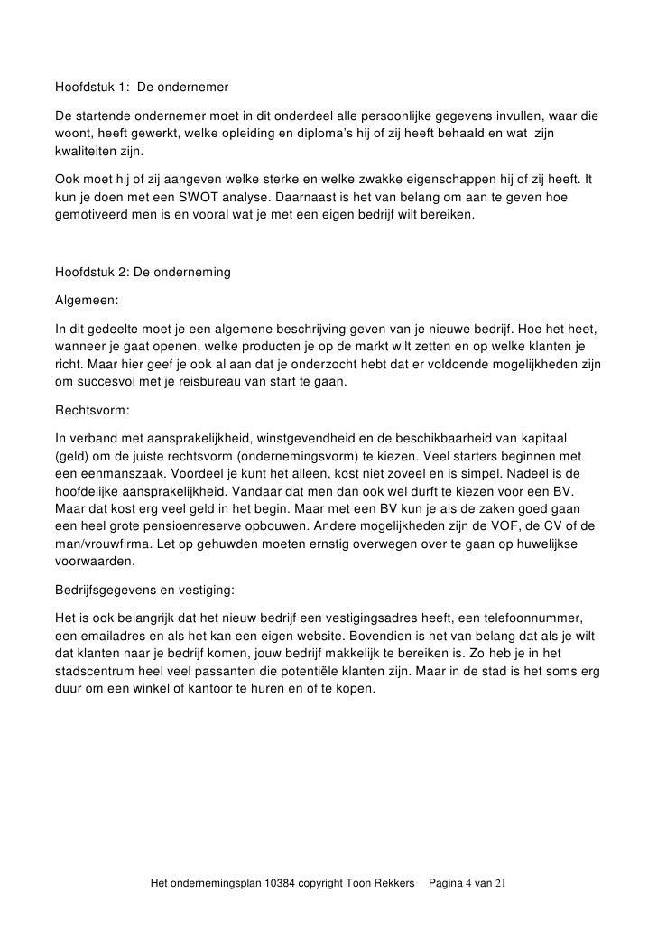 ondernemingsplan invullen Handleiding Ondernemingsplan ondernemingsplan invullen