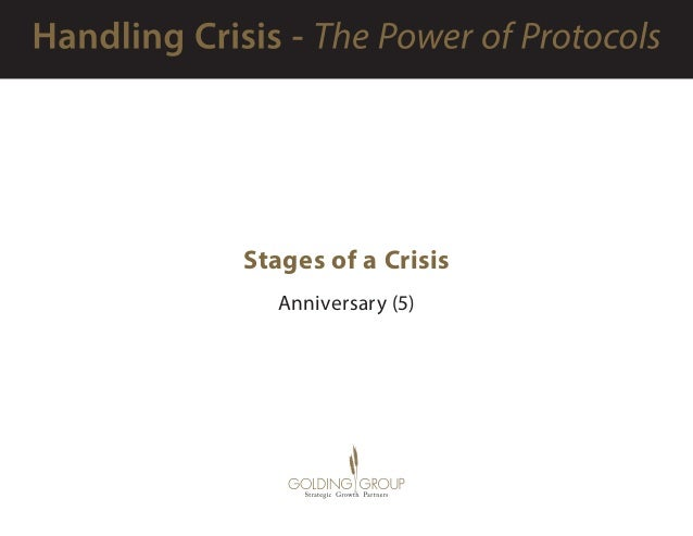 Stages of a Crisis Anniversary (5)