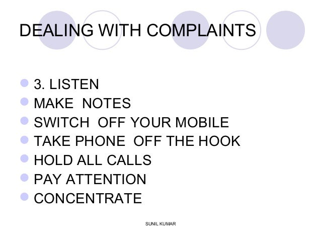 dealing with customer complaints No one likes dealing with difficult customers but what happens when your favorite customer or even simply someone who is being anything but rude has a complaint to get off their chest customers.