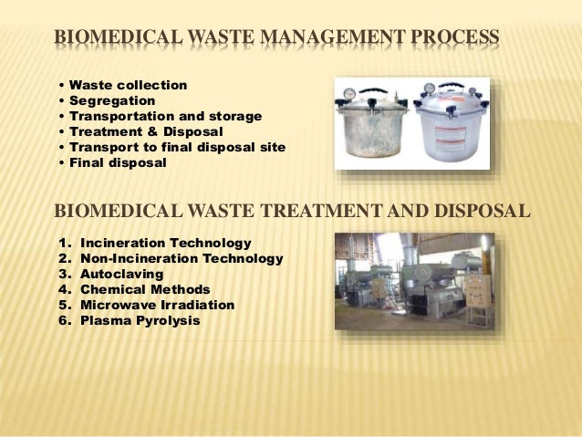 literature review on waste disposal at hospitals Best management practices for hospital waste review, technical assistance • an introduction to environmental waste management concerns in hospitals.