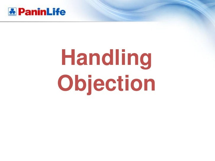 HandlingObjection
