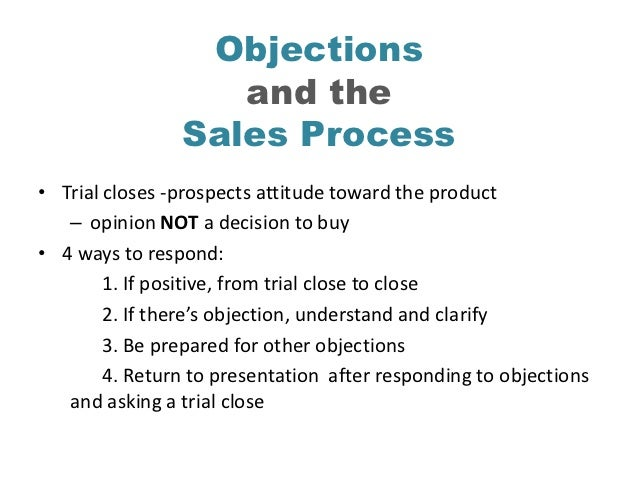 how to handle sales objections effectively