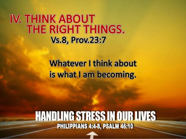 Stressors in our lives