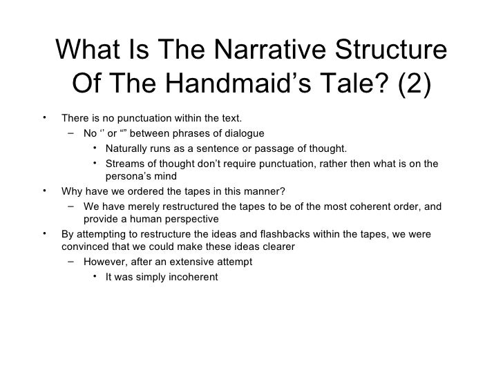 handmaids tale essay questions