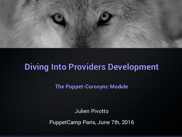 Diving Into Providers DevelopmentDiving Into Providers DevelopmentDiving Into Providers DevelopmentDiving Into Providers D...