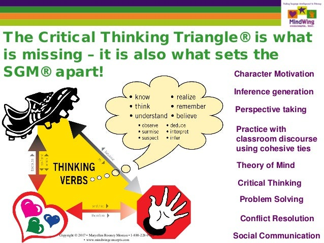 sgm critical thinking triangle