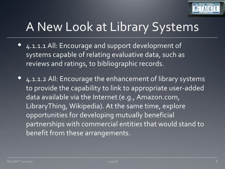 The Future Of Cataloging And Catalogers