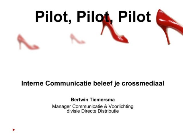 Interne Communicatie beleef je crossmediaal