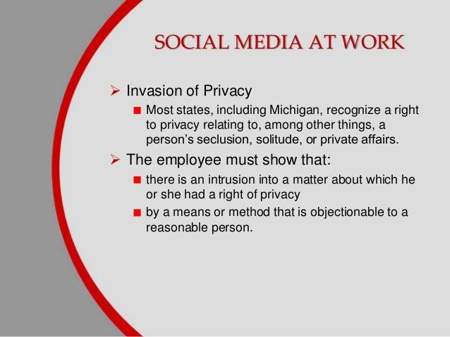 media invasion of privacy